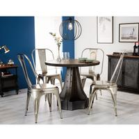 Evoke Round Dining Table by Indian Hub