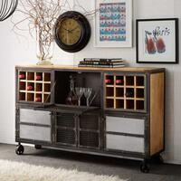 Evoke Bar Unit Reclaimed Wood and Metal