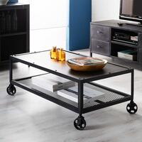 Metalica Reclaimed Iron Coffee Table