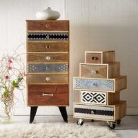 Sorio 7 Drawer Tall Chest by Indian Hub