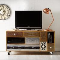Sorio multi drawer TV unit
