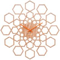 Karlsson Sunshine Hexagon Clock - Wood
