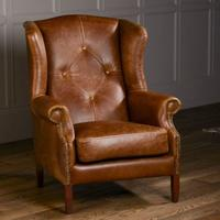 Wing Diamond Button Armchair by The Orchard