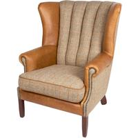 Fluted Wing Chair by The Orchard