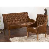 Simpson Handmade Leather Chair