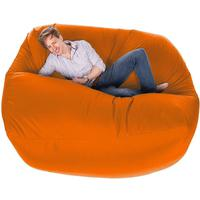 Giant Bean Bag - Orange by Red Candy