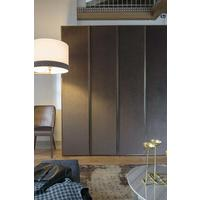Elysee 4 door (fabric) wardrobe by Icona Furniture