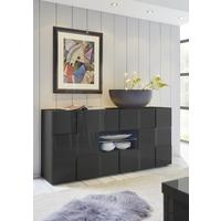 Treviso Sideboard - Two Doors/Two Drawers High Gloss Grey Finish by Andrew Piggott Contemporary Furniture