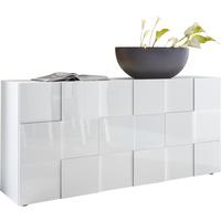 Treviso Sideboard - Three Doors High Gloss White Finish by Andrew Piggott Contemporary Furniture