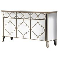 Eastern Panels Three Door Venetian Sideboard