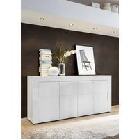 Napoli Four Door Sideboard - Gloss White Finish
