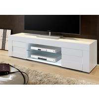 Napoli Large TV Stand Gloss White by Andrew Piggott Contemporary Furniture