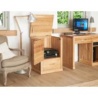 Mobel Solid Oak Modern Printer Cupboard