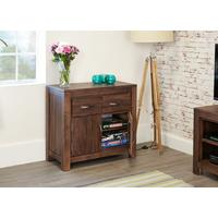 Mayan Walnut Small Sideboard by Baumhaus Furniture