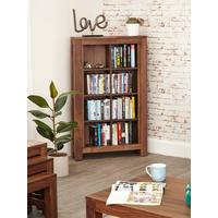 Mayan Open DVD / CD Storage Cabinet Rustic
