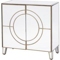 Claridge Circle Link 2 Door Cabinet by The Libra Company
