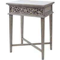 Roxborough Mindi Hand Carved Bedside Cabinet by The Libra Company
