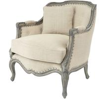 Roxborough Mindi Upholstered Occasional Chair With Cushion by The Libra Company