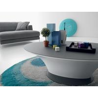 Boat oval coffee table by Icona Furniture