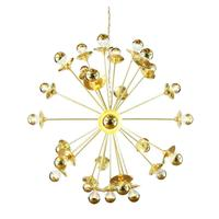 Tokyo Brass Sputnik Chandelier, 29-Arm by Mullan Lighting