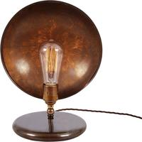 Cullen industrial dish table lamp by Mullan Lighting