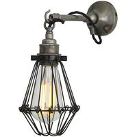 Edom industrial cage wall light by Mullan Lighting