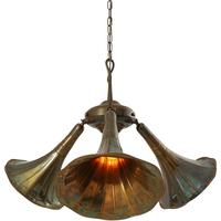 Gramophone quirky chandelier by Mullan Lighting