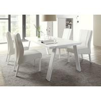 Ancona Dining Table Matt White by Andrew Piggott Contemporary Furniture