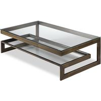 Ziggi Coffee Table Bronze Steel