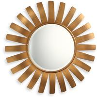 Paris Sunburst Mirror Antique Bronze or Gold