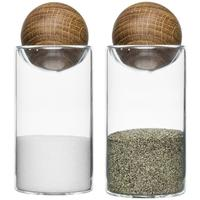 Sagaform Salt & Pepper Set with Oak Stoppers