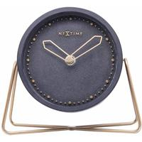NeXtime Cross Table Clock - Black