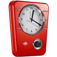 Wesco Classic Line Kitchen Clock - Red by Red Candy