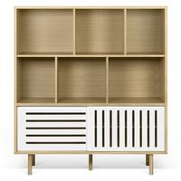Dann (stripes) cupboard by Icona Furniture