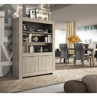 Forli Bookcase - Caracalla Oak Finish by Andrew Piggott Contemporary Furniture