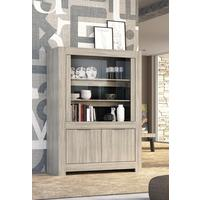Forli Display Vitrine - Caracalla Oak Finish by Andrew Piggott Contemporary Furniture