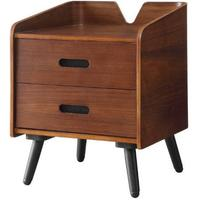Jual Vienna Retro 2 Drawer Pedestal Walnut PC610