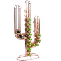 Cactus Coffee Capsule Holder - Copper by Red Candy
