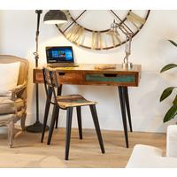 Coastal Chic Laptop Desk / Dressing Table by Baumhaus Furniture