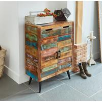 Coastal Chic Shoe Cupboard Reclaimed Timber