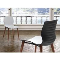 Eva dining chair (wood legs) by Icona Furniture
