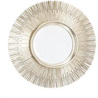 Sun Mirror - Antique Silver