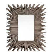 Darcey Mirror - Silver Leaf Finish