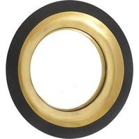 Alne Mirror - Black & Gold