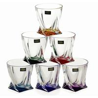 6 Quadro Tumblers 340ml Colour by Solavia