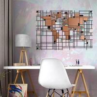 Mondrian World Map