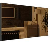 Popy Bronze Mirror rectangular by Piaggi