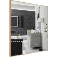 Popy Silver Square Mirror by Piaggi