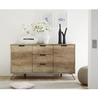 Palma Sideboard Two Doors and Three Drawers - San Remo Oak finish by Andrew Piggott Contemporary Furniture