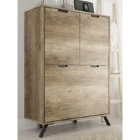 Palma Four Door Highboard - San Remo Oak finish by Andrew Piggott Contemporary Furniture